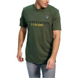 textil Herr T-shirts Kaporal TEFAR Grön