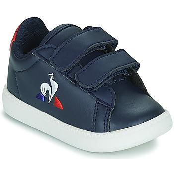 Skor Barn Sneakers Le Coq Sportif COURTSET INF Blå