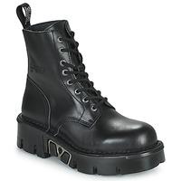 Skor Boots New Rock M-MILI084N-S3 Svart