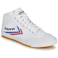 Skor Herr Höga sneakers Feiyue FE LO 1920 MID Vit / Blå / Röd