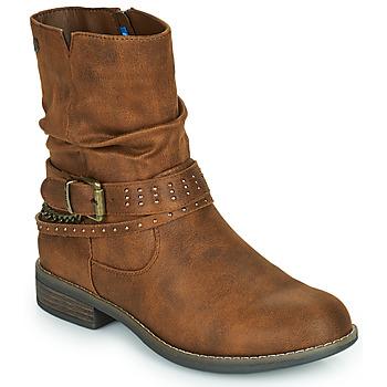 Skor Dam Boots MTNG 51892-C52072 Cognac