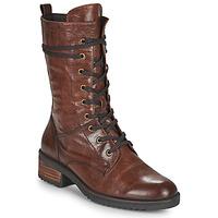 Skor Dam Boots Caprice 25202-351 Cognac