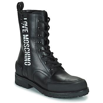 Skor Dam Boots Love Moschino JA24184G1D Svart