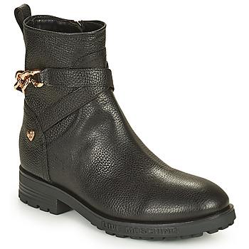 Skor Dam Boots Love Moschino JA21084G1D Svart