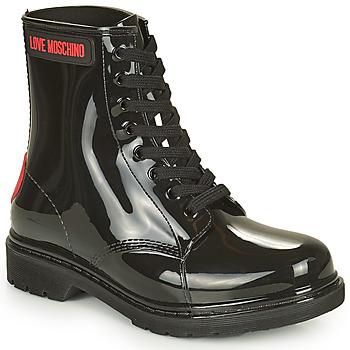 Skor Dam Boots Love Moschino JA24193G1D Svart