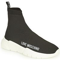 Skor Dam Höga sneakers Love Moschino JA15343G1D Svart
