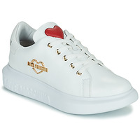 Skor Dam Sneakers Love Moschino JA15204G0D Vit