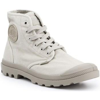 Skor Herr Höga sneakers Palladium Manufacture Pampa HI Gråa