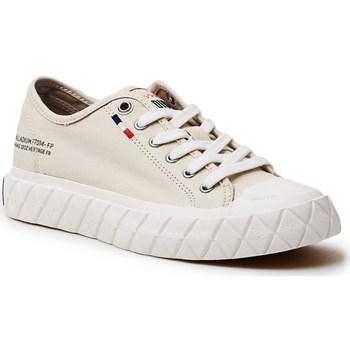 Skor Dam Sneakers Palladium Manufacture Ace Cvs Beige