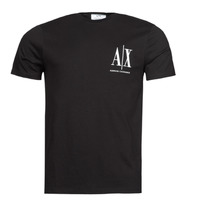 textil Herr T-shirts Armani Exchange 8NZTPH Svart