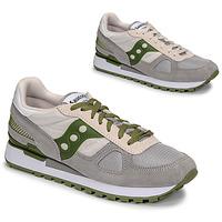 Skor Herr Sneakers Saucony SHADOW ORIGINAL Grå / Grön