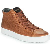 Skor Herr Höga sneakers Blackstone VG06-CUOIO Brun