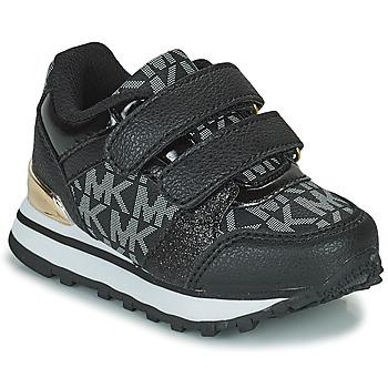 Skor Flickor Sneakers MICHAEL Michael Kors BILLIE JOGGER H&L Svart / Guldfärgad