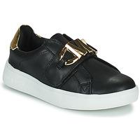 Skor Flickor Sneakers MICHAEL Michael Kors JEM MK Svart / Guldfärgad