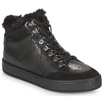 Skor Dam Boots Geox LEELU Svart