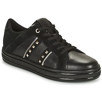 Skor Dam Sneakers Geox LEELU Svart