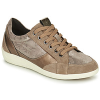 Skor Dam Sneakers Geox MYRIA Guldfärgad
