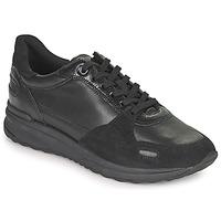 Skor Dam Sneakers Geox AIRELL Svart