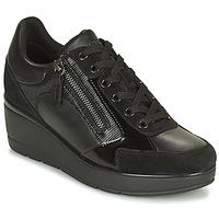 Skor Dam Sneakers Geox ILDE Svart