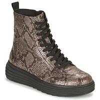 Skor Dam Boots Geox PHAOLAE Brun