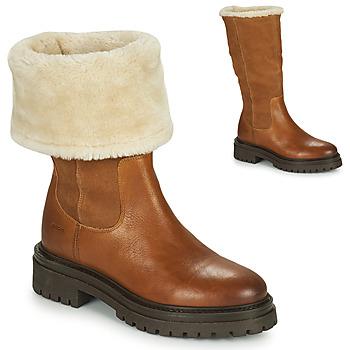 Skor Dam Boots Geox IRIDEA Brun