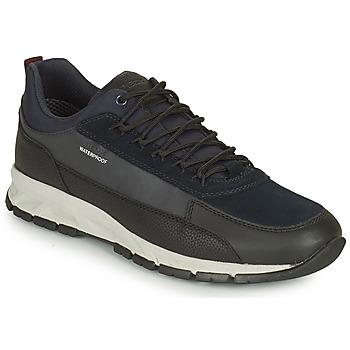 Skor Herr Sneakers Geox DELRAY WPF Marin / Svart