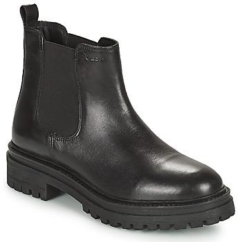 Skor Dam Boots Geox IRIDEA Svart