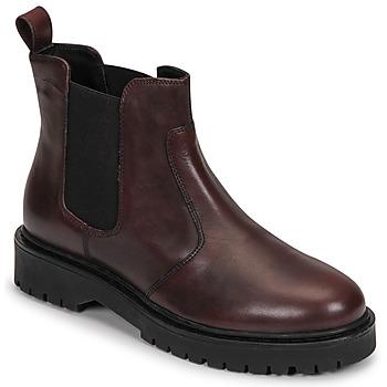 Skor Dam Boots Geox BLEYZE Bordeaux