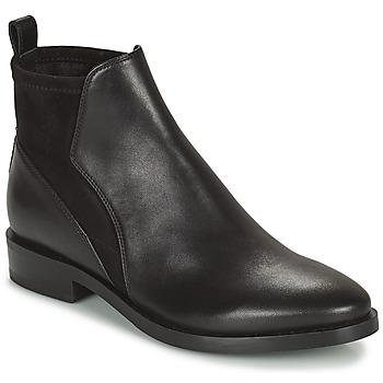 Skor Dam Boots Geox DONNA BROGUE Svart