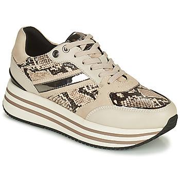 Skor Dam Sneakers Geox KENCY Beige