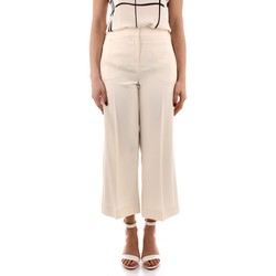 textil Dam Kostymbyxor Marella GRACE WHITE