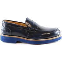 Skor Herr Loafers Exton 2102 Blå