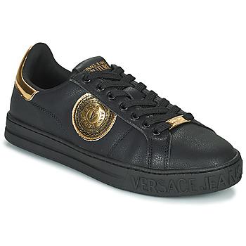 Skor Herr Sneakers Versace Jeans Couture  Svart
