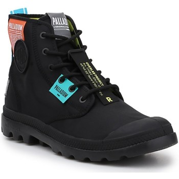 Skor Höga sneakers Palladium Manufacture Lite OVB Neon U 77082-008 black