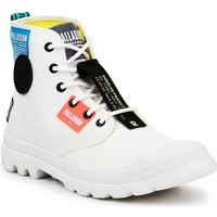 Skor Höga sneakers Palladium Manufacture Lite OVB Neon U 77082-116 white