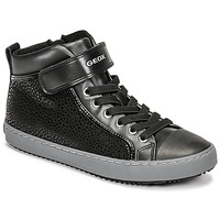 Skor Flickor Höga sneakers Geox KALISPERA Svart