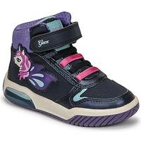 Skor Flickor Höga sneakers Geox INEK Violett