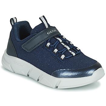 Skor Flickor Sneakers Geox ARIL Blå
