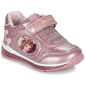 Skor Flickor Sneakers Geox TODO Rosa