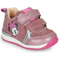 Skor Flickor Sneakers Geox RISHO Rosa