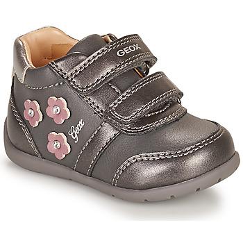 Skor Flickor Sneakers Geox ELTHAN Grå