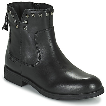 Skor Flickor Boots Geox AGATO Svart