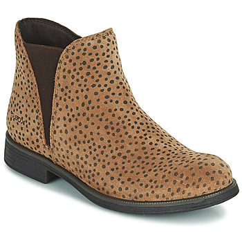 Skor Flickor Boots Geox AGATO Brun