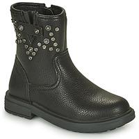 Skor Flickor Boots Geox ECLAIR Svart