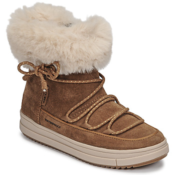 Skor Flickor Boots Geox REBECCA WPF Kamel