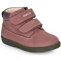 Skor Flickor Boots Geox HYNDE WPF Rosa
