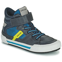 Skor Pojkar Höga sneakers Geox ALONISSO Blå