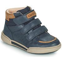 Skor Pojkar Höga sneakers Geox POSEIDO Marin