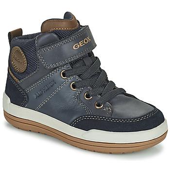 Skor Pojkar Boots Geox CHARZ ABX Marin