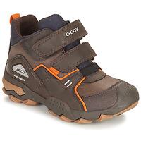 Skor Pojkar Boots Geox BULLER ABX Brun
